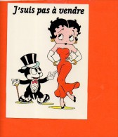 BETTY BOOP - N°7 - J'suis Pas à Vendre Editions Dalix (non écrite) - Bandes Dessinées