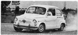 Automobiles Rétros. Photo De Voiture Ancienne. Abarth Fiat 850 TC : Caractéristiques Techniques De La Voiture. - Voitures