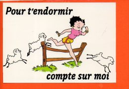 BETTY BOOP - N°21 - Pour T'endormir Compte Sur Toi - Editions Dalix (non écrite)(moutons) - Bandes Dessinées
