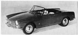 Automobiles Rétros. Photo De Voiture Ancienne. Fiat 1500/1600 S : Caractéristiques Techniques De La Voiture. - Cars