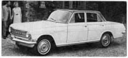 Automobiles Rétros. Photo De Voiture Ancienne. Vauxhall Cresta : Caractéristiques Techniques De La Voiture. - Voitures