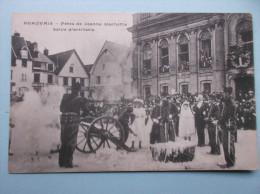 60 : BEAUVAIS : FETES De JEANNE HACHETTE , SLAVE D'ARTILLERIE , C.P.A.,carte En Très Bon état ,animée - Manifestazioni