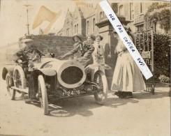 SUPERBE Et  RARE  PHOTO  - AUTOMOBILE  ANCIENNE ( Photo Prise En Angleterre Dans Les Années 1915/1920)  Marque ??? - Automobile