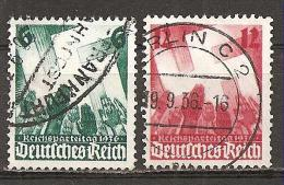 DR 1936 // Michel 632/633 O (4161) - Gebraucht