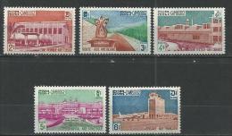 "Cambodge YT 114 à 118 "" Aides étrangères "" 1961 Neuf ** - Cambodge"
