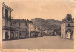 """04876 """"CORTEMILIA (TO) - PIAZZA SAVONA""""  CART. POST. ORIG. SPEDITA 1953. - Altre Città"""
