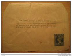 GIBRALTAR 5 Centimos Wrapper Faja Newspapers Postal Stationery British Colonies GB UK Colony España Spain - Gibraltar