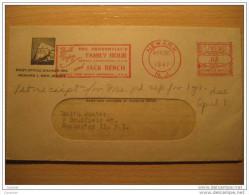 1947 Newark USA Cach Peñon Rock Corner Card The Prudential Has The Strength Of Gibraltar UK GB British Colonies Spain - Gibraltar