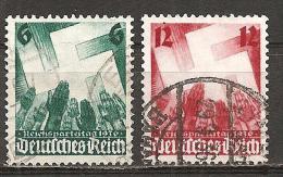 DR 1936 // Michel 632/633 O (4156) - Deutschland