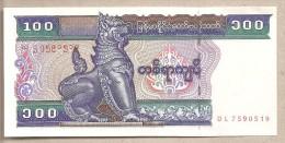 Myanmar - Banconota Non Circolata Da 100 Kyats - 1994 - Myanmar