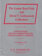 Dale/Lichtenstein Collections - Sale 22 : United States, British Commonwealth, German States (1992) - Letteratura