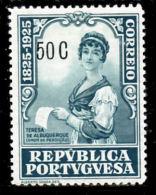 !! Portugal 1925 AF#345* Camilo 50 Centavos (x0388) - 1910-... Republic