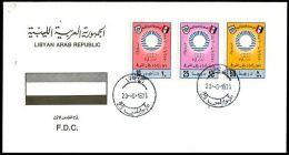 LIBYA - 1975 Mediterranean Games Algiers Algeria Sport (FDC) - Libya