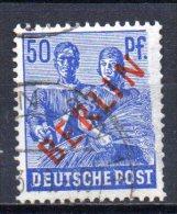 3/ Allemagne Berlin  N°  13 Rouge Oblitéré Cote   8,00€ - [5] Berlin