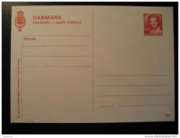 2.50 Postkort Postal Stationery Card Denmark - Entiers Postaux