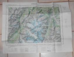 Carte De Chamonix. 1960. - Cartes Topographiques