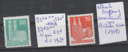 TIMBRE D ALLEMAGNE NEUF **   Nr 92** EG-87 ** EG SIGNEE    ANNEE 1948 COTE 192€ - Zone Anglo-Américaine