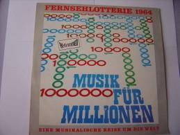 Vinyle--Fernsehlotterie 1964 - Musik Für Millionen - Sonstige - Deutsche Musik