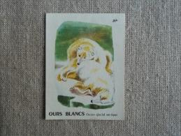 Bon Point 1960 Ours Blanc Arctique édition L´olivier. Appréciation De L´institutrice. Voir Photos. - Alte Papiere