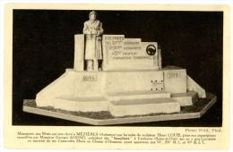 Monument Aux Morts Qui Sera élevé à Mézières (Ardennes) Par Les Soins Du Sculpteur Henri Louis, Grâce Aux Souscriptions. - Autres Communes