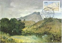 2891 - LA MONTAGNE SAINTE VICTOIRE - PAUL CEZANNE -  1er Jour 13 AIX EN PROVENCE - Cartes-Maximum