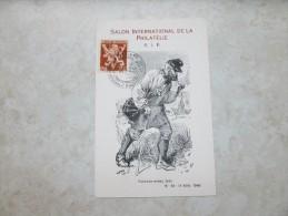 Carte Souvenir Facteur Rural 1946 - Erinnerungskarten