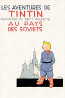 TINTIN  AU PAYS DES SOVIETS  (DIL158) - Bandes Dessinées