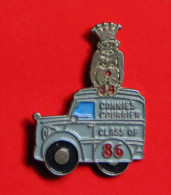 Pin´s - Connies Courrier - Class Of 86 - Transport