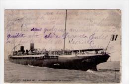 CPA/RYS415/LE HAVRE LE TRANSATLANTIQUE LA  TOURAINE 1906 - Steamers