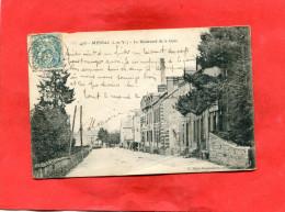 MESSAC  / ARDT REDON   1905   /   BOULEVARD DE LA GARE   CIRCULE  OUI - Frankreich