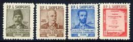 ALBANIA 1960 Language Society Set MNH / **.  Michel 599-602 - Albania