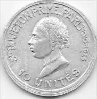 JETON  PRIME  10 UNITES - Otros