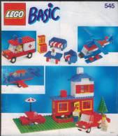 Plan  Lego System  545  Basic  De 1990 - Plans