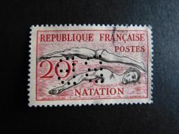 FRANCE B N° 960 BB 28 Indice 2 Perforé Perforés Perfins Perfin  !! Superbe - France