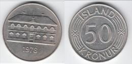 **** ISLANDE - ICELAND - ISLAND - 50 KRONUR 1978 PARLIAMENT BUILDING IN REYKJAVIC **** EN ACHAT IMMEDIAT - Islandia