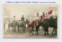 VINA DEL MAR-1920-Valparaiso-CHILE-CHILI-ANES-Marchand-Commerce-Profession-CARTE PHOTO- - Chile