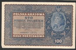 100 Marek Polskych 1919 III Serja W Selten - Monete & Banconote