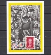 Argentina, 1996 Issue. Eva Peron Stamp Expo S/sheet With Marlyn Monroe In Design. Mint NH. - Viñetas De Fantasía