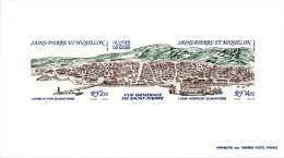 Miquelon Panorama St-pierre - Non Dentelés, épreuves & Variétés