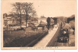 LIANCOURT - La Gare, Vue Sur Le Pont  - Train - Liancourt