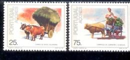 381 - 382 Transportmittel Postfrisch ** MNH - Azoren