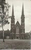 Oostakker  -  FOTOKAART - Kerk;   Hôtel De Lourdes  -   1959 - Gent