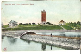 Reservoir And Tower, Lawrence, Massachusetts - Lawrence
