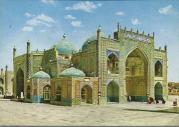 MAZAR - E - SHARIF -  NUOVA - LIEVISSIMA  PIEGA ANGOLO  BASSO  DESTRO - SCRITTA  DIETRO - - Afghanistan