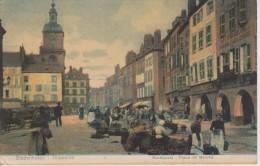 57-NELS METZ SERIE PORCELAINE N° 14-THIONVILLE Place Du Marché-CARTE RARE - Metz