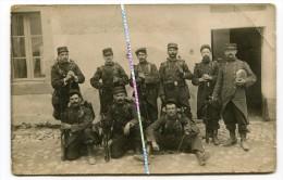 CARTE PHOTO / 53e RI ( PERPIGNAN ) / 1905 - 1914 / 53e REGIMENT D' INFANTERIE - Krieg, Militär