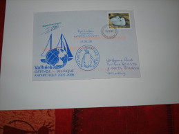 BAT Port Lockroy 25  12  2005  Navire Belge Vaïhéré - Territoire Antarctique Britannique  (BAT)