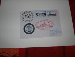 BAT  Signy 2007 Année Polaire Internationale Navire RRS James Clark - Territoire Antarctique Britannique  (BAT)