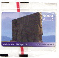 IRAQ REF MVcards IRQ-4  5000U BLISTER MINT - Iraq
