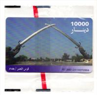 IRAQ REF MVcards IRQ-6  10000U BLISTER MINT - Iraq